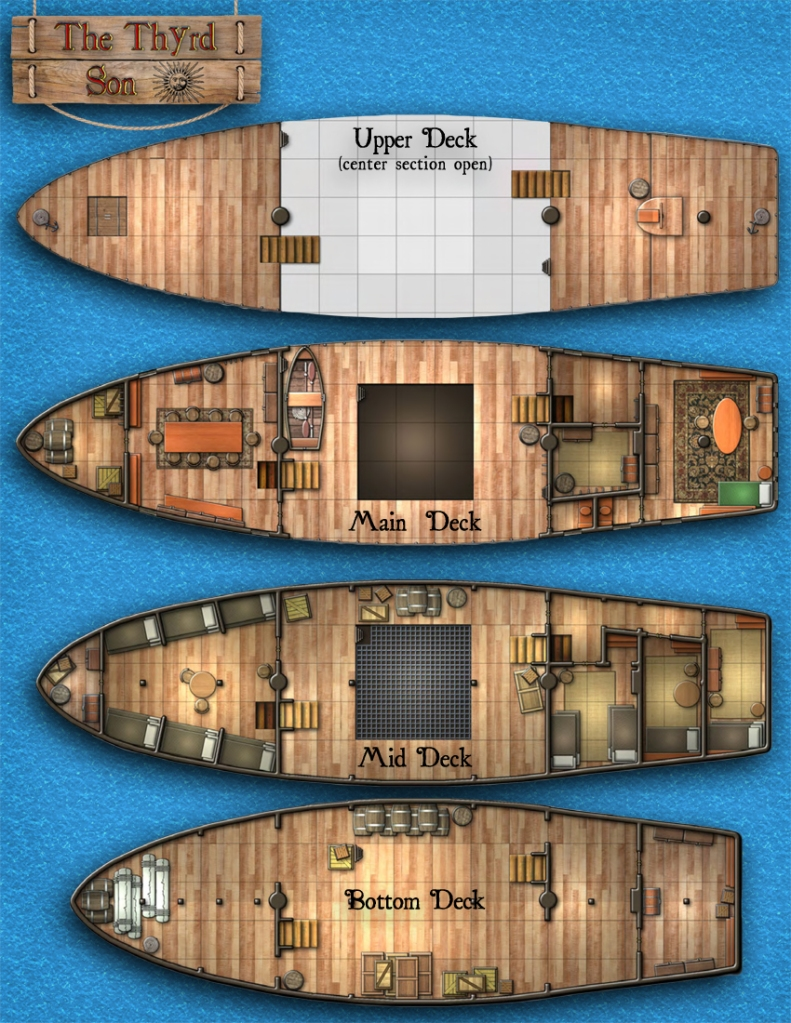 0 HR: Sailing Ships